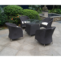 Hot Selling Leisure rattan chair dining table Outdoor Furniture chairs