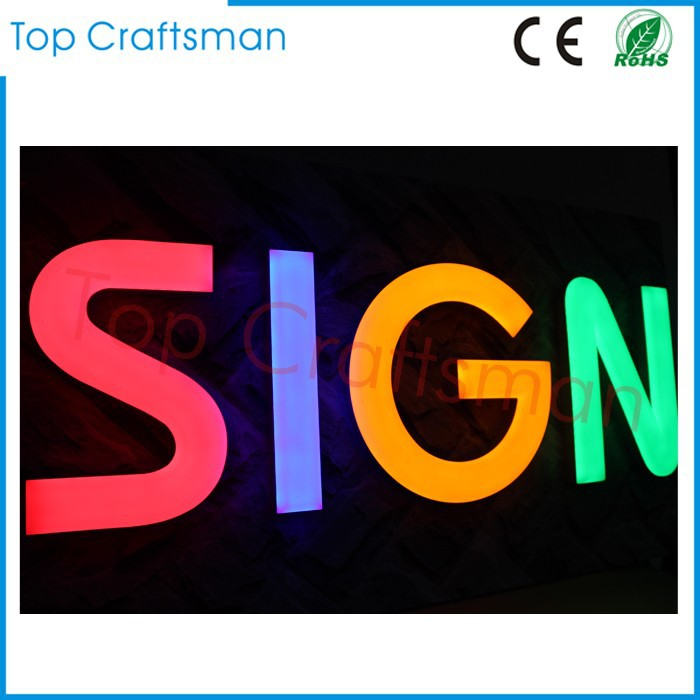 Waterproof Brightness light up Brushed/mirror Acaylic face led channel letter for shop <strong>sign</strong>
