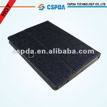 Best seller jeans case cover with multi-stand for Asus Transformer TF300 tablet
