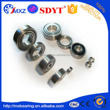 8*22*7 mm miniature size deep groove ball bearing 608 ZZ