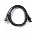 Coiled USB Cable for RS232 Cable CBA-R03-C12PAR