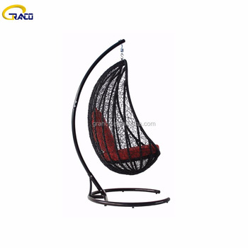 premium quality outdoor furniture rattan patio swing chair