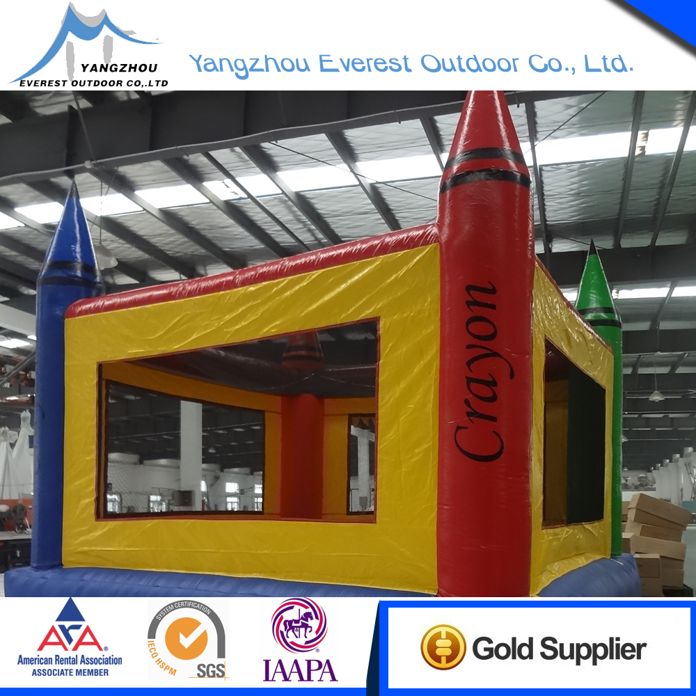 2015 New product 15'x15'x15' castle inflatable bouncing jumping