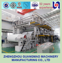 China supplier machine for manufacturing a4 sheet and paper rolls, exercise book paper making machinery for small business