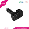 HOT bluetooth handsfree car kit mp3 player built-in car earphone and Mic handsfree with TF card /line-in/out AD-996