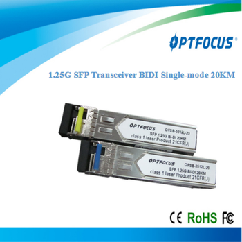 Best Price 1.25G BIDI 20KM SFP Transceiver with LC or SC connector