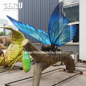 Colorful Animatronic Butterflies model