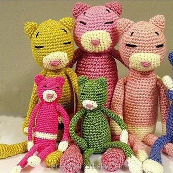 Hand Knitted Toys : Hand knitted giraffe plush toy crochet toys baby dolls