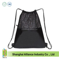 Polyester Fabric Drawstring School Backpack