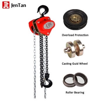 JenTan 3 ton manual chain block types of chain block