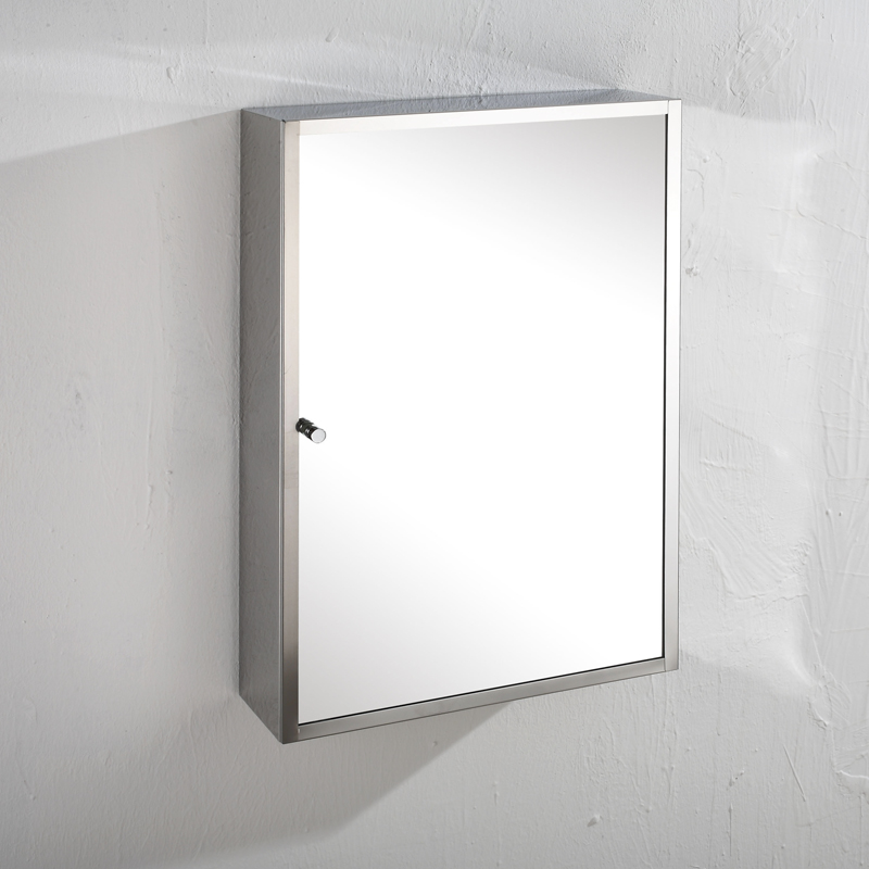 304 stainless steel cheap bathroom mirror cabinet 7090