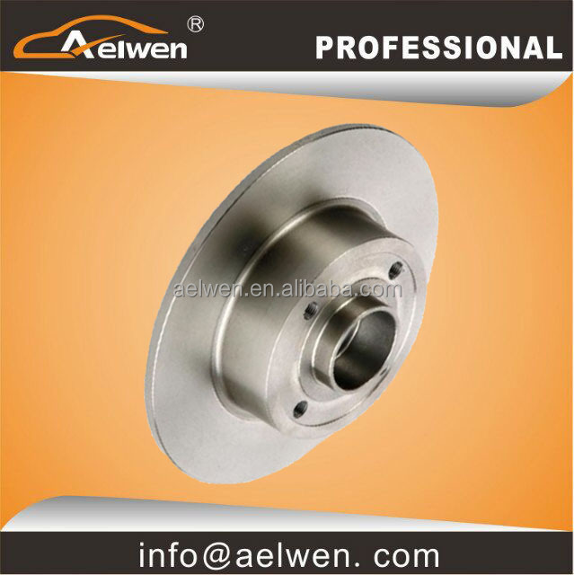 Brake Disc KF155.77 Aelwen Brake Bearing 7701207823 High Quality Rear Bearing + Disc 240*8 4H For Renault Megane II