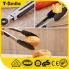 Food grade silicone bbq tongs promotional Eco- friendly BBQ Tongs Heat Resistant