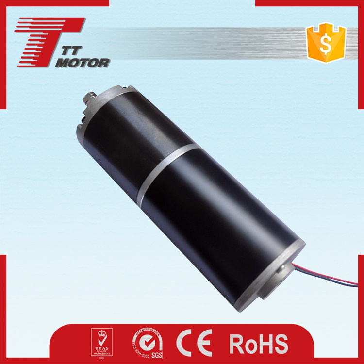 High torque low rpm electric 24V dc motor rotor for heavy equipments