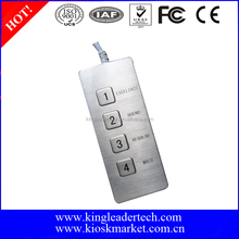 Desktop Mini Functional Keypad with USB connector,Custom Layout Available