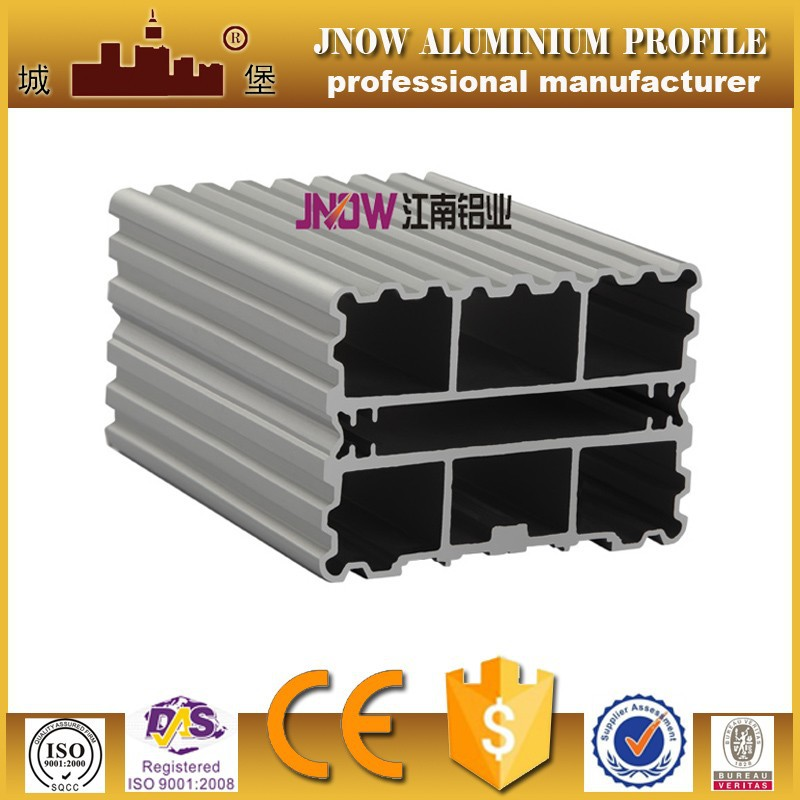 Aluminium c shape profile , alu c profil for customized size extruded aluminium profile