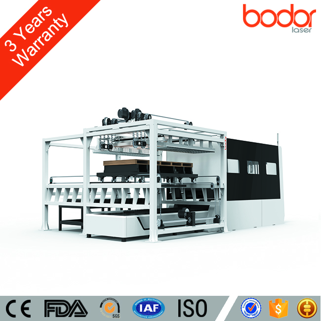 European level aluminum laser cutting machine with automatic feeding