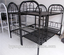 Custom made multifunction home metal bed with mattress easy assemble army used metal bunk bed