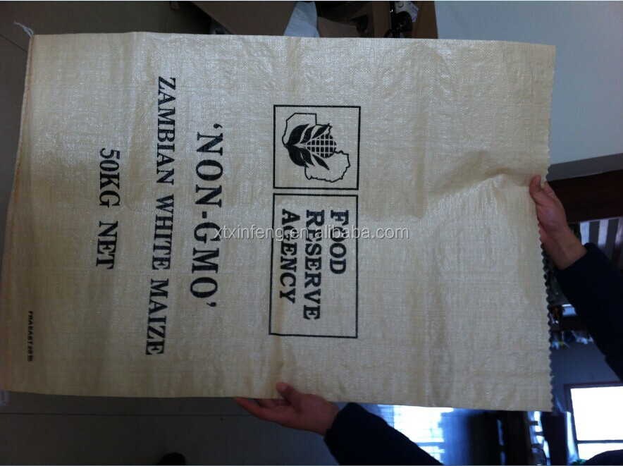 high quality PP woven printed bag,BOPP color print for fertilizer/seed/animal feed/rice/sugar/salt/grains/flour/chemical