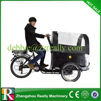 Cargo bike electric tricycle for passenger