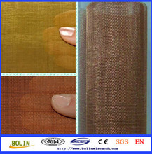 Woven Wire Mesh Copper / Electromagnetic Shielding Fabric / Rf Shield Room (free sample)