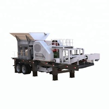 Latest Technology 5 Dech Sand Crushing Plant Limestone Benefit Crusher Of Mobile Crusher