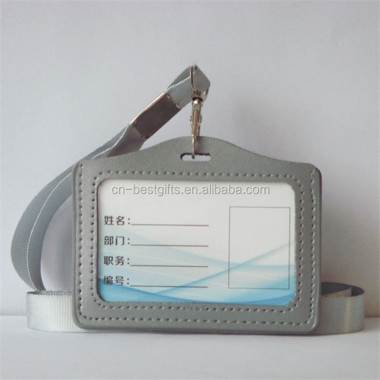 Most popular special design staff work card holder with many colors