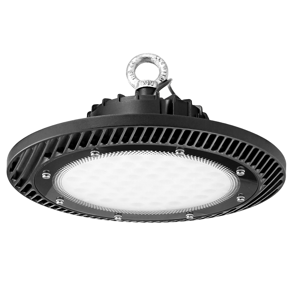 100W 200W 300W UFO LED High Low Bay Light Gym Factory Warehouse Industrial Shed