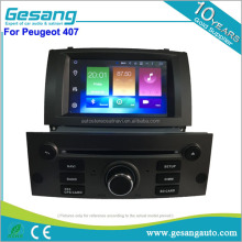 double din Android 6.0 car dvd gps for peugeot 407 car stereo audio with gps navigation bluetooth