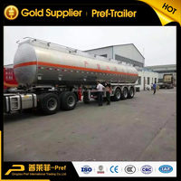 43000 Liters Aluminum Alloy Fuel Milk