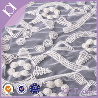 high quality organza embroidery ivory african swiss voile lace