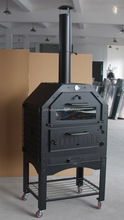 Italian Garth Pizza wood Stone Oven Outdoor
