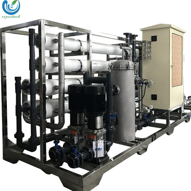 30TPH Water treatment plants for industrial / Cosmetic / Pharmaceutical / Chemical / Food / Drinking Water