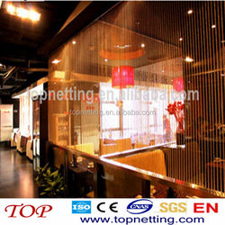 restaurant curtain room dividers