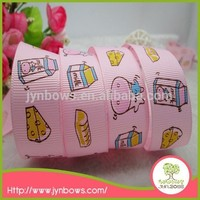 Wholesale china cheap price hot sale printed horse ribbon