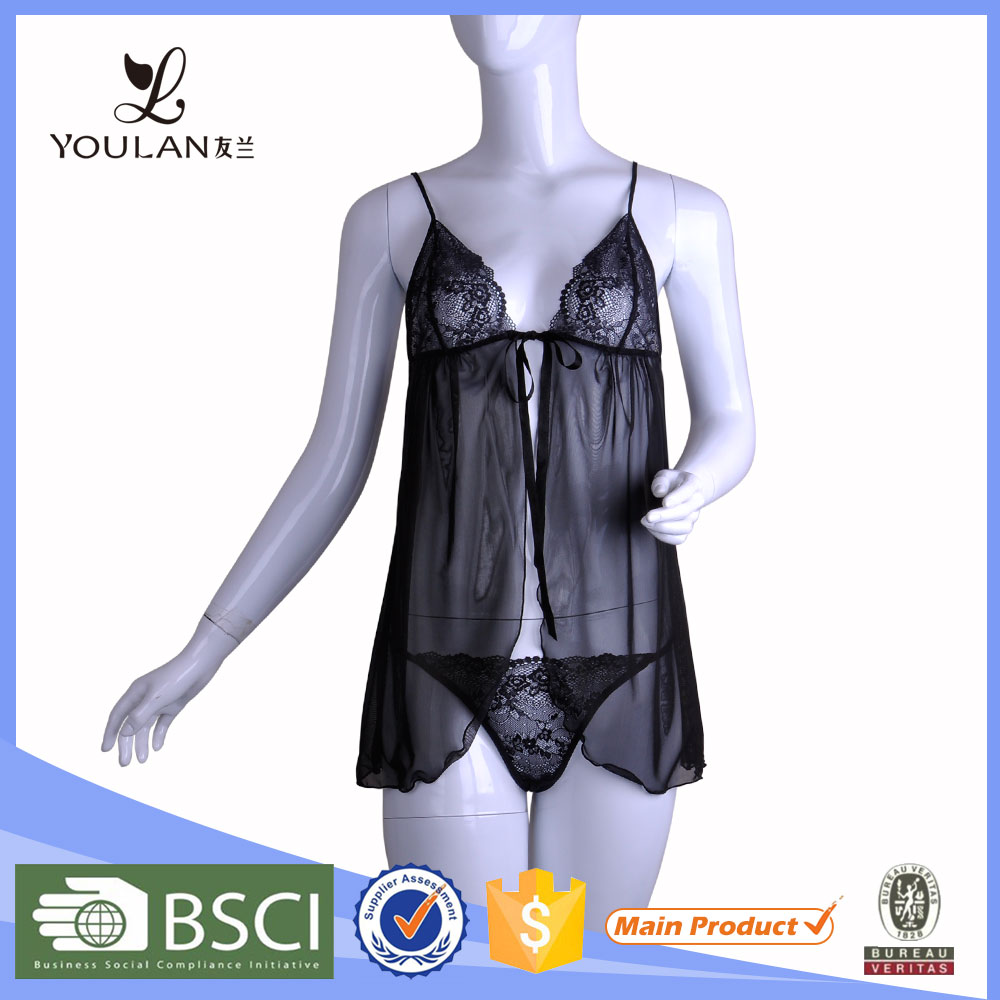 Latex Arrival Fashion Comfortable Mature Women Sexy Night Inner Wear