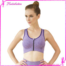 Selling like hot cakes wholesale latest design purple push up sports bra