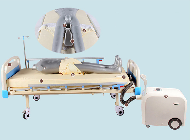 Medical care service robot used in hospital to take care of the patient