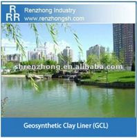Artificial lake geosynthetic clay liner (GCL)