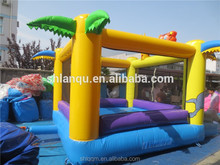 2017 cartoon bounce inflatable mini combo jumper for kids