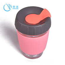 Professional Manufacture Single Silicone Coffee Cups China, Coffee Cup With Cover