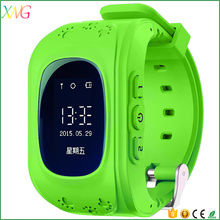 Popular custom bluetooth android smart watch Q50 kids with GPS tracking SOS function