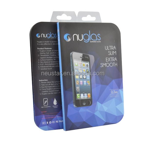 wholesale tempered glass sheet, for iphone 5 glass screen protector factory price with 1day lead-time