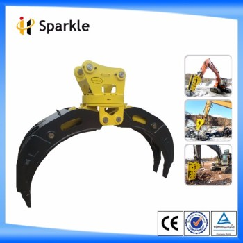 SPARKLE ISO CE-Certified hydraulic grab wood grapple