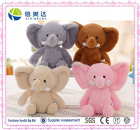 Plush stuffed cute deluxe Thailand Elephant animal Toy plush doll