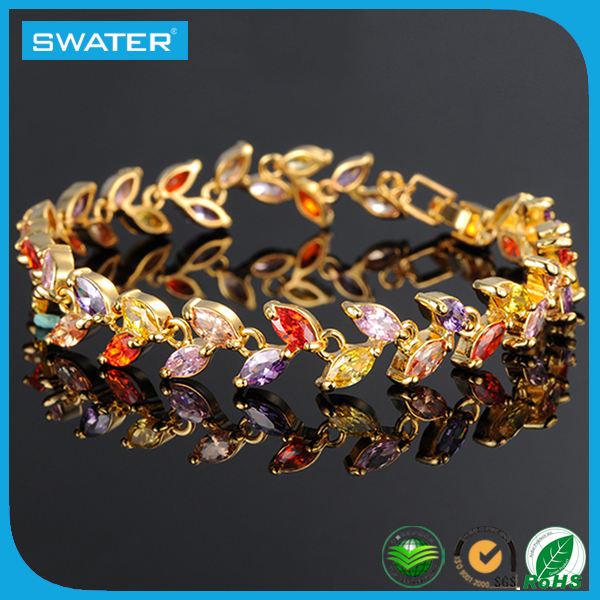 Alibaba Express In Spanish Fashion Design Citrine Bracelets