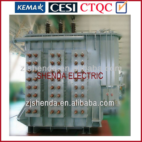 single phase oil filled intermediate frequency switching electric arc furnace transformer 33kv