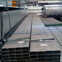 TSX-GI032 Pre galvanized square pipe/round hollow section tube