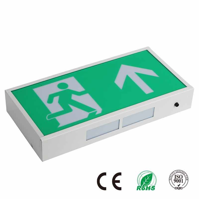 Industrial Rechargeable LED Emergency Exit Sign Light