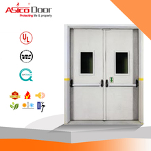 ASICO Metal Panic Bar Classroom Fire Door With UL Listed